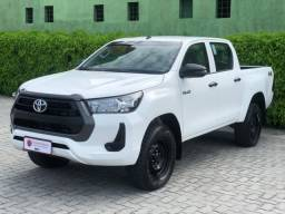 Título do anúncio: Toyota hilux 2021 2.8 d-4d turbo diesel cd power pack 4x4 manual