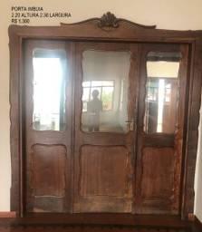Porta madeira maciça imbuia