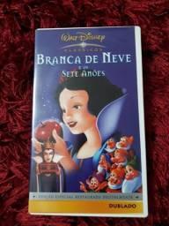 Branca de Neve e os Sete Anões - Dublado- VHS