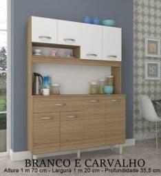 Título do anúncio: Armário de Cozinha Melina 08 portas - Solares