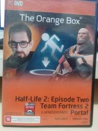 Leia The Orange Box Half-life 2 Team Fortress Portal Jogo Pc