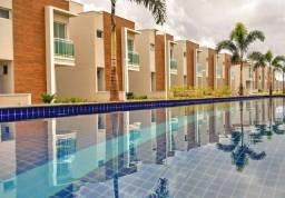 CA0557 - Casas duplex em condomínio com fino acabamento e lazer completo.