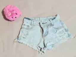 Short Jeans tamanho 6 anos
