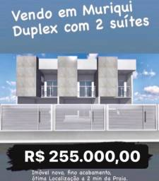 Título do anúncio: Casa em Muriqui com 2 suítes