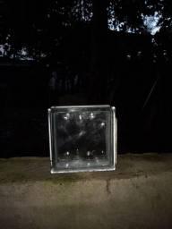 Título do anúncio: Vendo tijolo de vidro transparente 15 reais a unidade *