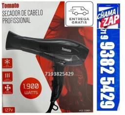 Secador Cabelo 1900 Watts Profissional Ar Quente Frio 127v