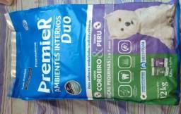 Título do anúncio: Ração Premier Super Premium Cães ambiente interno Duo Cordeiro e Peru raças pequenas 12kg
