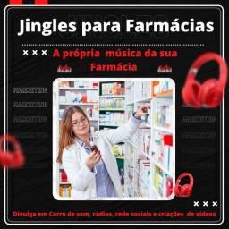 Título do anúncio: Jingles para Farmacias .. .. ..
