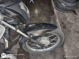 Título do anúncio: Troco rodas da 125i em liga leve dou volta