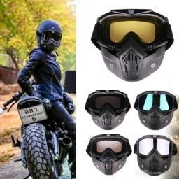 Máscara Óculos Motociclista Motocross Moto Capacete Bike/ POR ENCOMENDA!!