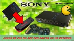 Título do anúncio: games ps2 no hd ou pen driver