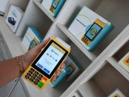 Maquina de cartão Moderninha Pro2 - PagSeguro (Imprimi Comprovante )