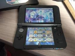 New 3ds Xl, Hyrule Edition, 32gb, Case, Hand Grip, 39 Jogos
