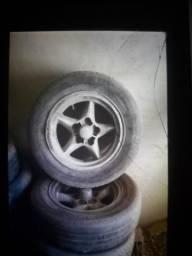 4 roda de liga leve maverik $600,00