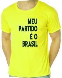 Camiseta Amarela Bolsonaro Presidente 2c9f0c54c367e