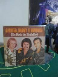 Lp disco vinil Carlito, Baduy E Voninho (os Reis Do Batidão) 1977