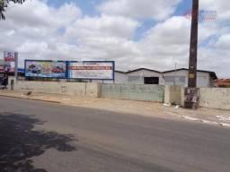 Galpão comercial para locação, areinha, são luís - ga0058.