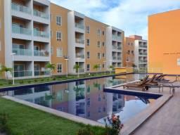 Alugo apartamento com 2 quartos em condomínio no Eusébio