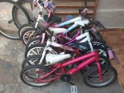 Vende se bicicleta temos vários modelos