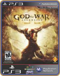 Título do anúncio: Ps3 God of war Ascension