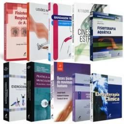 Coleção 10 livros de fisioterapia