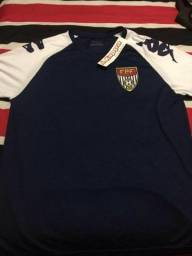 Camisa treino aquecimento árbitro fpf federação Paulista de futebol oficial  kappa 177a938763752