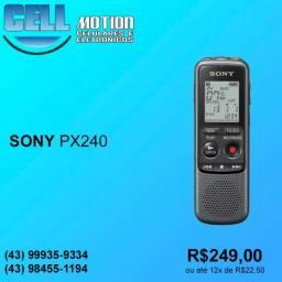 Gravador de voz portátil Sony ICD-PX240