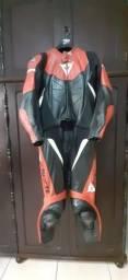 Macacão De Couro Motociclista