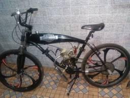 Motorizada bike rodas de magnésio.