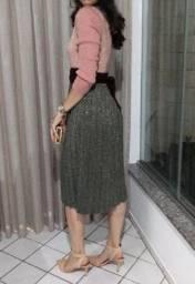 Vestido Toli luxo e brilhoso