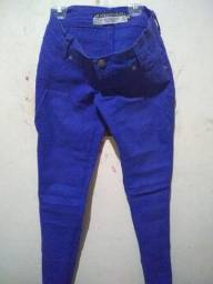 Calça azul caneta