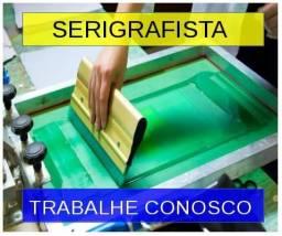 Contrata Serigrafista