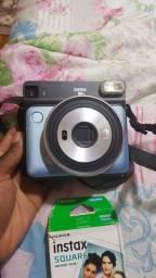 Câmera Instantânea Instax Fujifilm Square SQ6 Pérola