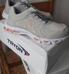 Calçado feminino tenis cinza número 38 novo buscar no local em franca