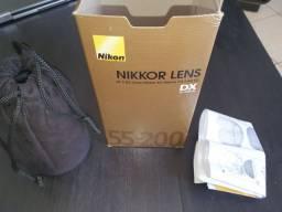 Lente Nikkor 55-200 Nikon