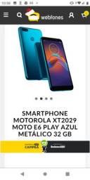 Celular moto E 6 Play R$:600,00 reais