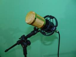 Microfone Estúdio Profissional Condensador