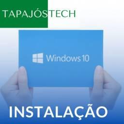 Título do anúncio: Instalação do Windows 10 Tapajós Tech