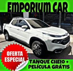 TANQUE CHEIO SO NA EMPORIUM CAR!!! FIAT TORO 1.8 AUT FREEDOM ANO 2019 COM MIL DE ENTRADA