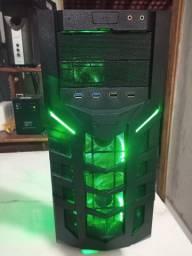 Computador PC Game CPU i5, 16gb, SSD 120Gb, HD 500gB, Placa de vídeo 2gb