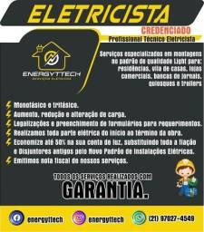 Eletricista Padrão Light Monofásico Trifásico