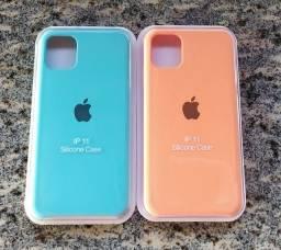 Capa de Silicone iPhone 11