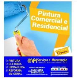 Pintor Residencial e Comercial - Aproveite a Promoção!