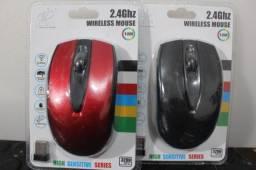 Mouse sem fio 2.4GHz Jiexin