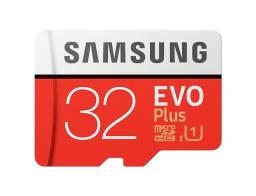 Cartão de Memória 32GB Samsung Evo Plus