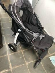 Carrinho Burigotto Primus com bebê conforto e base de carro