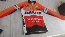 Jaqueta Térmica de Ciclismo - MTB Repsol (produto novo - nunca usado) - Tamanho M