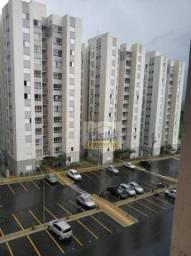Apartamento com 2 dormitórios para alugar, 58 m² por R$ 1.185/mês - Jardim das Colinas - H
