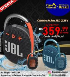 caixinha de som JBL Clip4