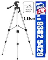 Tripé Universal Telescópico Para Filmadoras Câmeras Digitais Câmeras